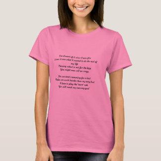 Camiseta Mamã do estudante dos cuidados