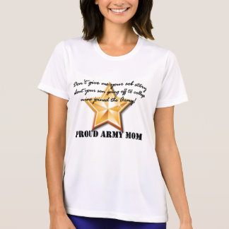 Camiseta mamã do exército: história de soluço (estrela)