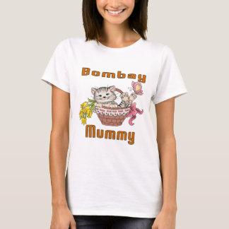 Camiseta Mamã do gato de Bombaim