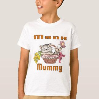 Camiseta Mamã do gato Manx