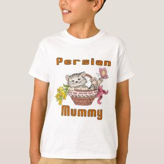 Camiseta Mamã do gato persa