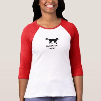 Camiseta Mamã do gato preto