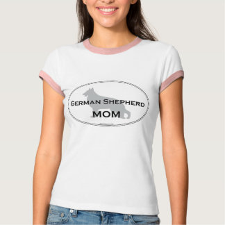 Camiseta Mamã do german shepherd