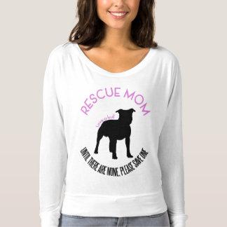 """Camiseta Mamã do salvamento """"amor T do salvamento do"""