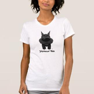 Camiseta Mamã do Schnauzer