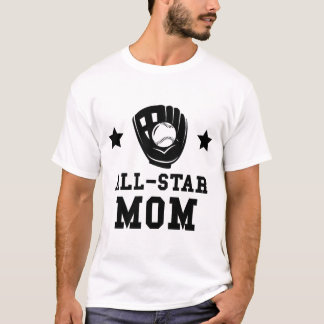 Camiseta Mamã do softball de All Star