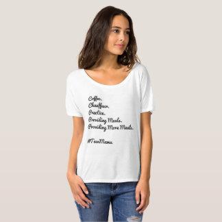 Camiseta Mamã do t-shirt dos adolescentes