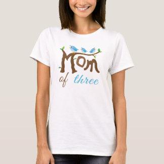 Camiseta Mamã do Tshirt de três dias das mães