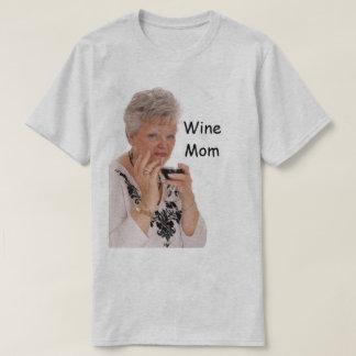 Camiseta mamã do vinho