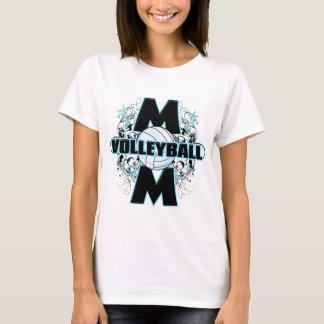 Camiseta Mamã do voleibol (cruz) .png