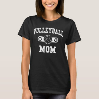 Camiseta Mamã do voleibol do vintage