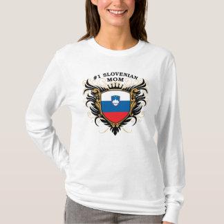Camiseta Mamã eslovena do número um