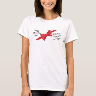 Camiseta Mamã feliz do dia das mães! Presente customizável