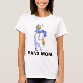 Camiseta MAMÃ MANX, t-shirt do CAT, Bobtail