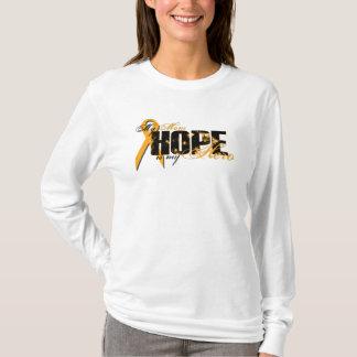 Camiseta Mamã meu herói - esperança da leucemia