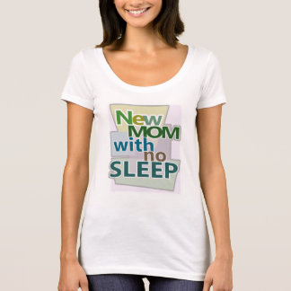 Camiseta MAMÃ nova sem o sono