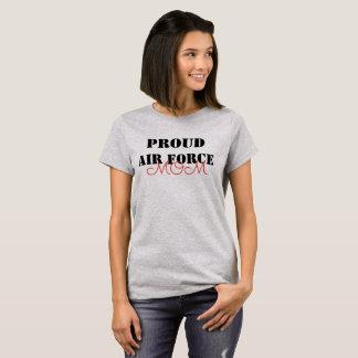 Camiseta Mamã orgulhosa da força aérea
