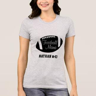 Camiseta Mama personalizado T-shirt do futebol