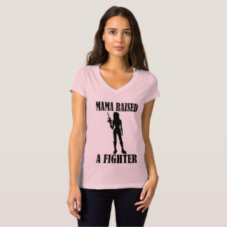 Camiseta Mama Raised Um Lutador