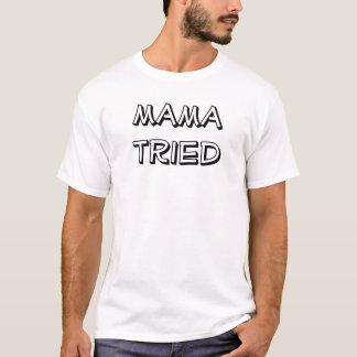 Camiseta mama tentado