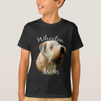 Camiseta Mamã Wheaten brandamente revestida 2 de Terrier