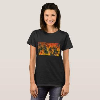 Camiseta Manchas solares da dança