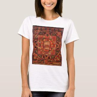 Camiseta Mandala budista da piedade