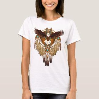 Camiseta Mandala da águia americana - revisada