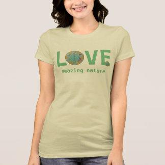 Camiseta mandala da flor