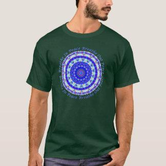 Camiseta Mandala da paz