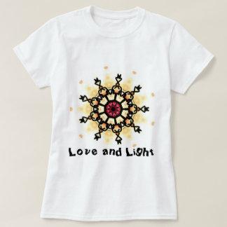 Camiseta Mandala do amor e da luz