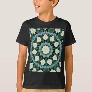 Camiseta Mandala do azul verde e Cerulean de Sacramento