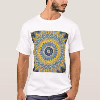 Camiseta Mandala do caleidoscópio em Portugal: Teste padrão