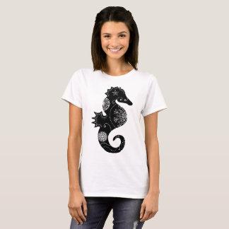 Camiseta Mandala do cavalo marinho