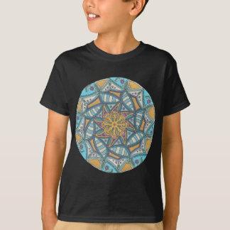 Camiseta Mandala do esplendor do oceano