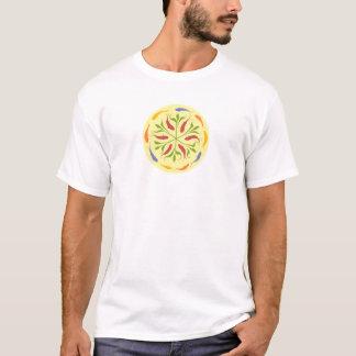 Camiseta Mandala dos peixes/peixes (islâmica)
