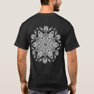 Camiseta Mandala Tiga Abu Abu