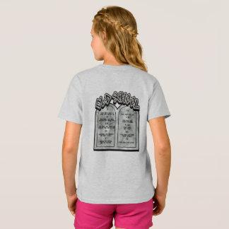 Camiseta Mandamentos da velha escola dez