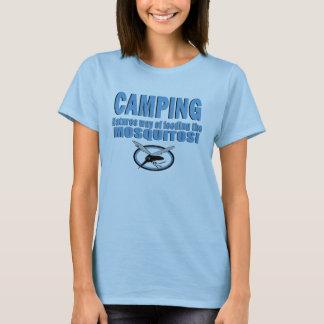 Camiseta Maneira de acampamento das naturezas