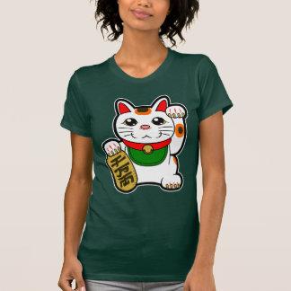 Camiseta Maneki Neko: Gato afortunado japonês