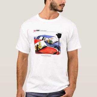 Camiseta Manequim do carro
