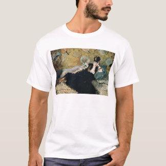 Camiseta Manet | a senhora com fãs