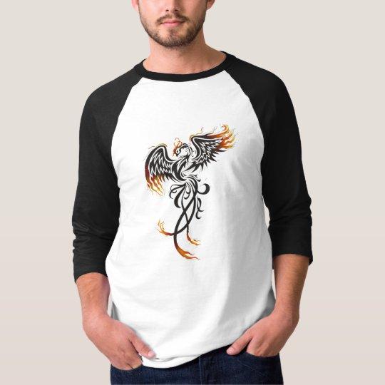 """Camiseta manga 3/4 masculina """"Fenix"""""""
