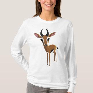 Camiseta Manga a gazela