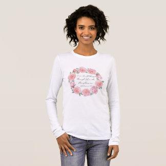 Camiseta Manga Longa 4:13 dos Philippians - eu posso fazer todas as