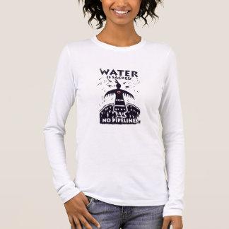 Camiseta Manga Longa A água é T sagrado