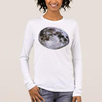 Camiseta Manga Longa A Lua cheia das mulheres