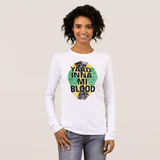 Camiseta Manga Longa ADN jamaicano