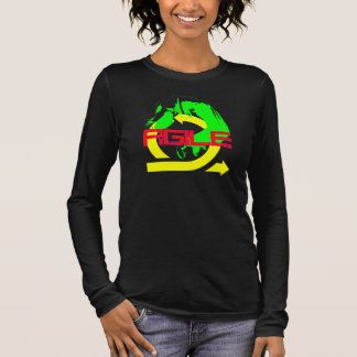 Camiseta Manga Longa Ágil
