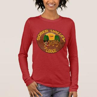 Camiseta Manga Longa Alojamento sóbrio do vale